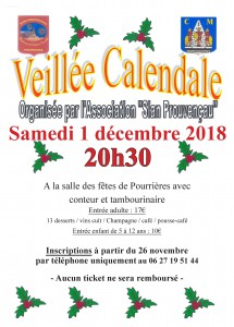 veille calendale2018