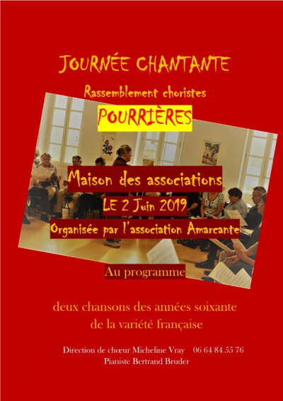 journee chantante